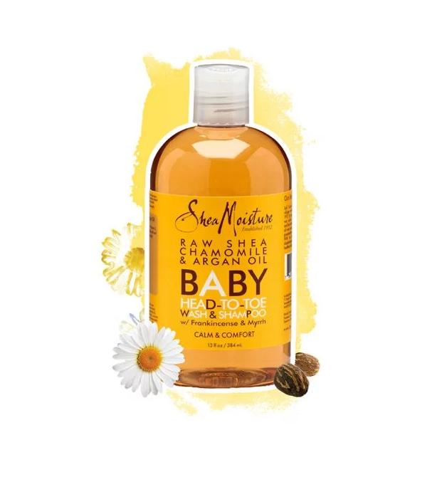 SheaMoisture Raw Shea Chamomile & Argan Oil Baby Healing Lotion