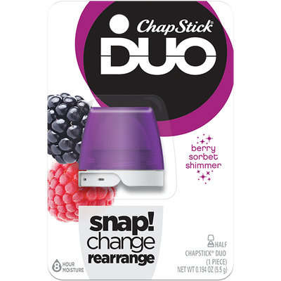 ChapStick® DUO Berry Shimmer