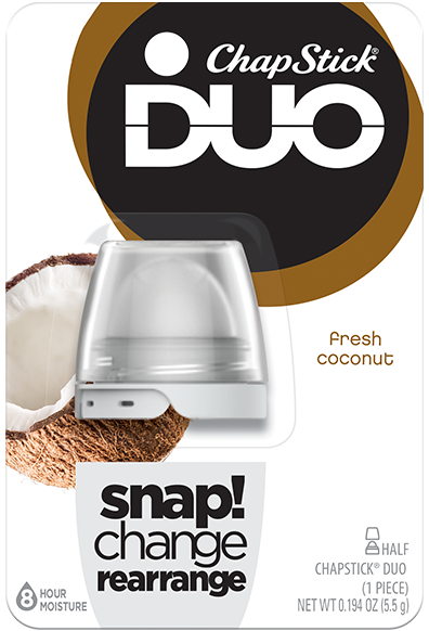 ChapStick® DUO Fresh Coconut