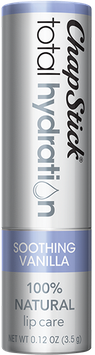 ChapStick® Total Hydration 100% Natural* Soothing Vanilla