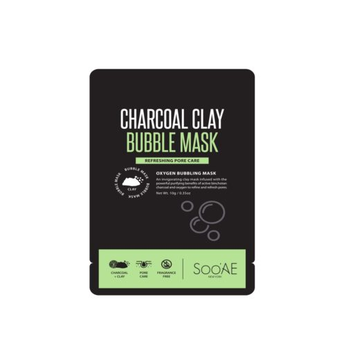 Soo'AE Charcoal Clay Bubble Mask