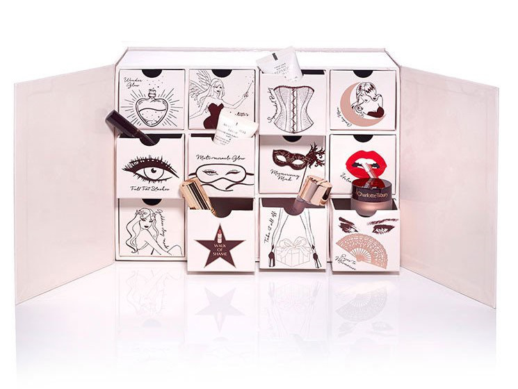 Charlotte Tilbury Naughty And Nice Magic Box Beauty Advent Calendar