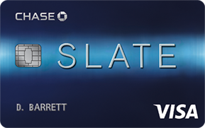Chase Slate Credit Card