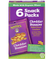 Annie's® Cheddar Bunnies Baked Snack Crackers
