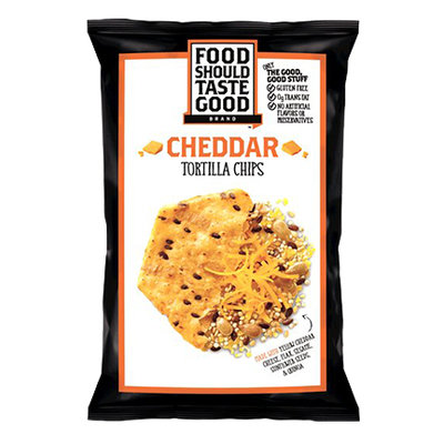 Food Should Taste Good Cheddar Tortilla Chips