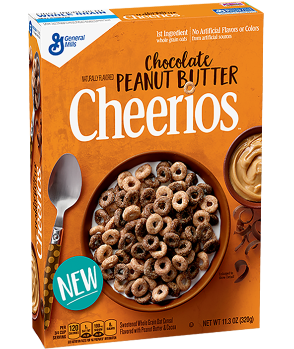 Cheerios General Mills Chocolate Peanut Butter Cereal
