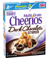 General Mills Multi Grain Cheerios Dark Chocolate Crunch