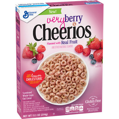 Cheerios General Mills Very Berry Cereal