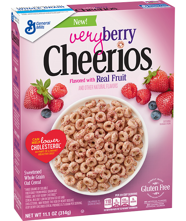 Cheerios general mills very berry cereal reviews ccuart Choice Image