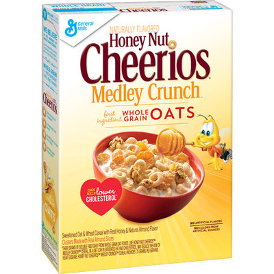 Cheerios Honey Nut Medley Crunch Cereal