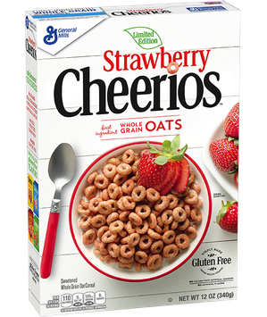 Cheerios Strawberry Cereal