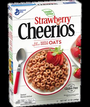 Cheerios Strawberry Cereal