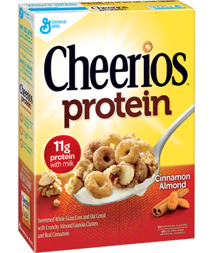 Cheerios Protein Cinnamon Almond Cereal