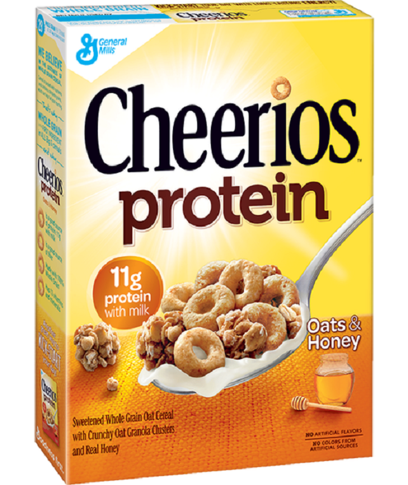 Cheerios Protein Oats & Honey Cereal