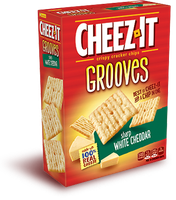 Cheez-It Grooves® Sharp White Cheddar