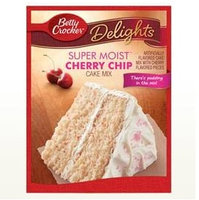 Betty Crocker™ Super Moist™ Delights Cherry Chip Cake Mix