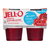 JELL-O Cherry Pomegranate Low Calorie Gelatin Snacks