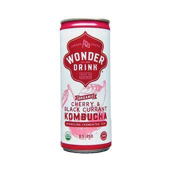 Kombucha Wonder Drink Cherry & Black Currant in Can