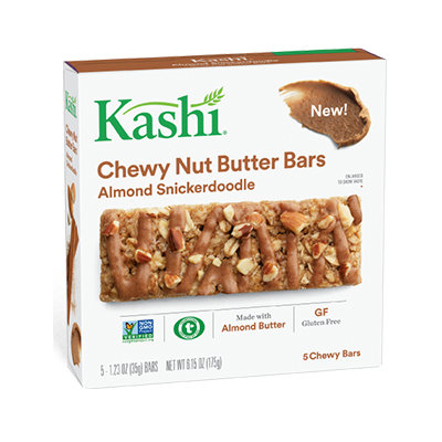 Kashi® Chewy Nut Butter Bars, Almond Snickerdoodle
