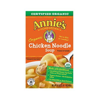 Annie's® Organic Chicken Noodle Soup