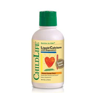 ChildLife Essentials Liquid Calcium With Magnesium Natural Orange Flavor – Liquid Formula