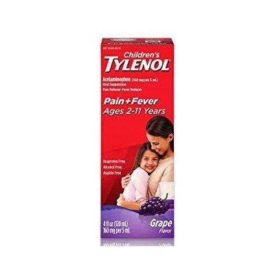 Tylenol® Children's Grape Oral Suspension