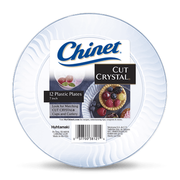 Chinet® Cut Crystal® Dessert Plate 7