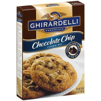 Ghirardelli Chocolate Chip Cookie Mix