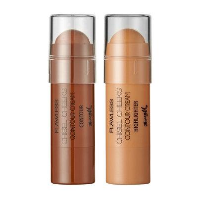 Barry M Cosmetics Chisel Cheeks Contour Creams