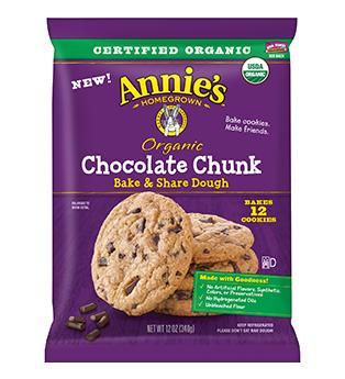 Annie's® Organic Chocolate Chunk Bake & Share Dough