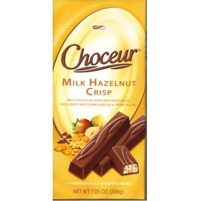 Choceur Milk Hazelnut Crisp Chocolate Bar