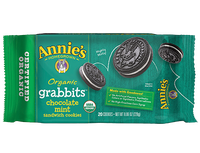 Annie's®    Organic Grabbits Chocolate Mint Sandwich Cookies