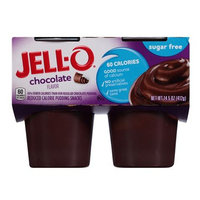 JELL-O Chocolate Reduced Calorie Pudding Snacks