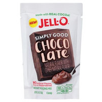 JELL-O Simply Good Chocolate Instant Pudding Mix
