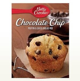 Betty Crocker™ Chocolate Chip Muffin Mixes