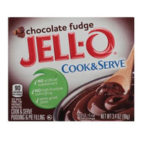 JELL-O Chocolate Fudge Cook & Serve Pudding & Pie Filling