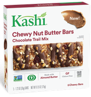 Kashi® Chewy Nut Butter Bars, Chocolate Trail Mix