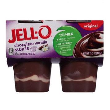 JELL-O Chocolate Vanilla Swirls Pudding Snacks