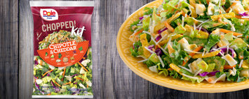 Dole Fresh Chopped Chipotle and Cheddar Salad Kit