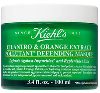 Kiehl's Cilantro & Orange Extract Pollutant Defending Mask