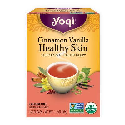 Yogi Tea Cinnamon Vanilla Healthy Skin