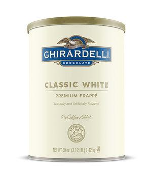 Ghirardelli Classic White Frappé