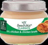 Beech-Nut® Stage 1 Classics Chicken & Chicken Broth