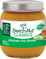 Beech-Nut® Stage 2 Chicken Rice Dinner