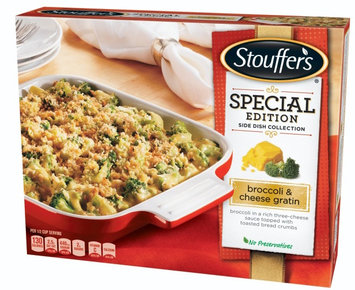 Stouffer's Broccoli & Cheese Gratin