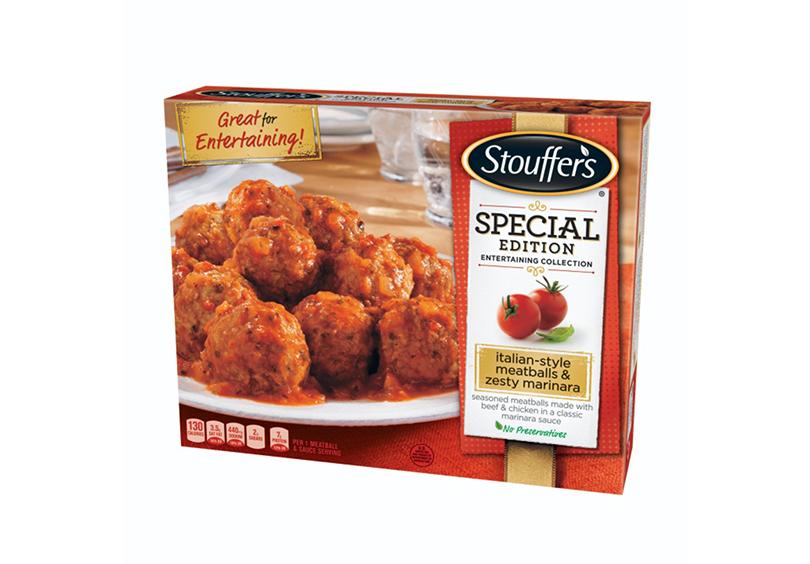 Stouffer's Italian-style Meatballs & Zesty Marinara