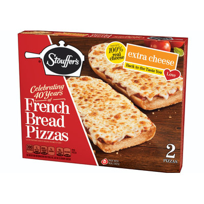 Stouffer's Extra Cheese French Bread Pizza