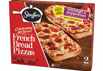 Stouffer's Sausage & Pepperoni French Bread Pizza