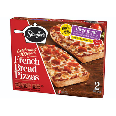 Stouffer's Three Meat French Bread Pizza