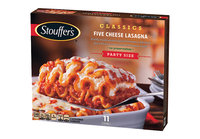 Stouffer's Five Cheese Lasagna